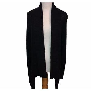 Express Black Knit Cardigan Ladies Size Medium